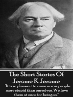 The Short Stories Of Jerome K Jerome