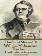 The Short Stories Of William Makepeace Thackeray