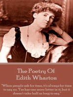 The Poetry Of Edith Wharton