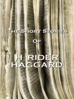 The Short Stories Of H Rider Haggard