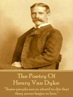 The Poetry Of Henry Van Dyke