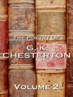 The Poetry Of GK Chesterton Volume 2