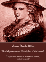 The Mysteries of Udolpho - Volume 1 by Ann Radcliffe