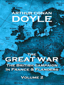 The Great War - Volume 2: The British Campaign in France and Flanders