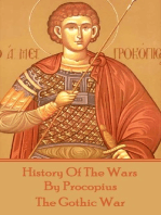 History of the Wars by Procopius - The Gothic War