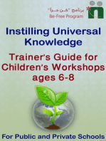 Trainer's Guide for Children's Workshops, 6-8 years old