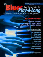 Blues Play-a-Long and Solos Collection for Piano/Keyboards Beginner Series