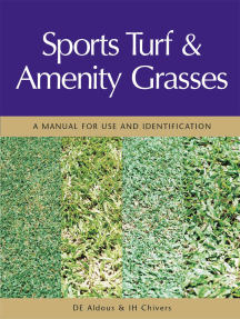 Sports Turf and Amenity Grasses: A Manual for Use and Identification