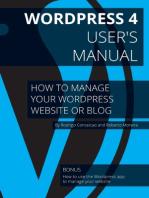 Wordpress 4 - User's Manual