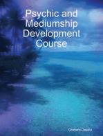 Psychic and Mediumship Development Course