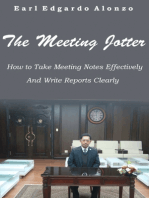 The Meeting Jotter