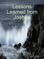 Lessons Learned from Joshua