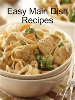 Easy Main Dish Recipes