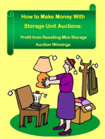 How to Make Money With Storage Unit Auctions