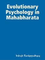 Evolutionary Psychology in Mahabharata