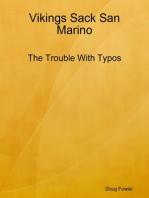 Vikings Sack San Marino - The Trouble With Typos