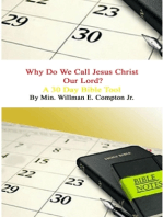 Why Do We Call Jesus Christ Our Lord? A 30 Day Bible Tool
