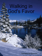 Walking in God's Favor