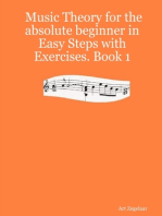 Music Theory for the Absolute Beginner In Easy Steps With Exercises.
