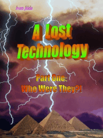 A Lost Technology - Part One