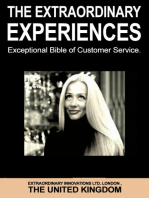The Extraordinary Experiences - Exceptional Bible of Customer Service
