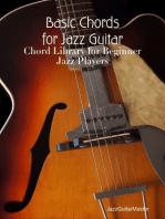 Basic Chords for Jazz Guitar