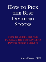 How to Pick the Best Dividend Paying Stocks