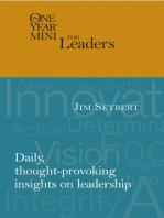 The One Year Mini for Leaders