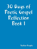 30 Days of Poetic Gospel Reflection Book 1