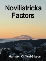 Novilistricka Factors