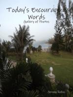 Today's Encouraging Words