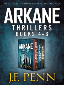ARKANE Thriller Boxset 2: One Day in Budapest, Day of the Vikings, Gates of Hell: ARKANE Thriller Boxset, #2