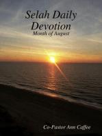 Selah Daily Devotion
