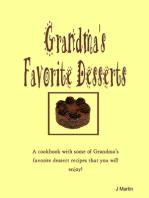 Grandma's Favorite Desserts