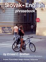 Slovak - English Phrasebook