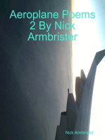 Aeroplane Poems 2 By Nick Armbrister