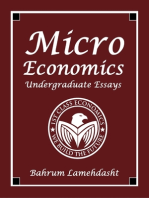 Microeconomics - Undergraduate Essays and Revision Notes