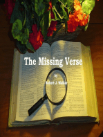 The Missing Verse