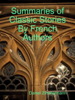 Summaries of Classic Stories By French Authors