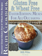 Gluten Free & Wheat Free Meals For All Occasions Taster Edition Discover Great Gluten Free & Wheat Free Recipes (Wheat Free Gluten Free Diet Recipes for Celiac / Coeliac Disease & Gluten Intolerance Cook Books, #6)
