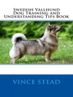 Swedish Vallhund Dog Training and Understanding Tips Book