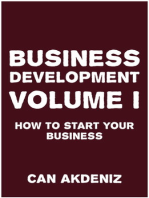 Business Development Volume I