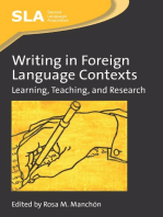 Writing in Foreign Language Contexts
