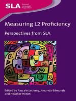 Measuring L2 Proficiency