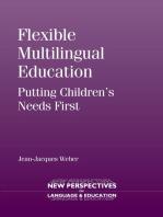 Flexible Multilingual Education