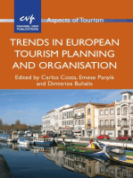 Trends in European Tourism Planning and Organisation