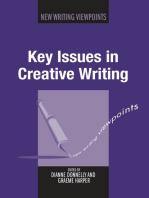 Key Issues in Creative Writing