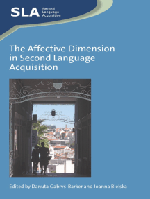 The Affective Dimension in Second Language Acquisition