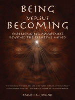 Being Versus Becoming