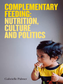 Complementary Feeding: nutrition, culture and politics